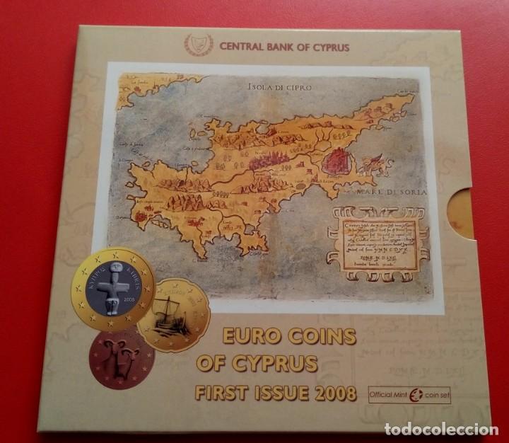 Monedas antiguas de Europa: BLISTER CONMEMORATIVO A LA ENTRADA DE CHIPRE EN EL EURO 2008 DEL CENTRAL BANK OF CYPRUS - Foto 7 - 86985472