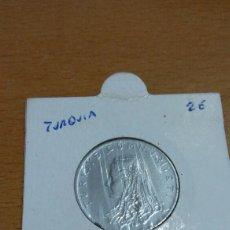 Monedas antiguas de Europa: MONEDA DE TURQUÍA 50 KU RÚS 1974. Lote 87060188
