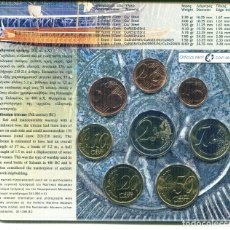 Monedas antiguas de Europa: GRECIA CARTERA EURO COIN SET 2010 OFFICIAL ISSUE MARITIMA. Lote 87374456