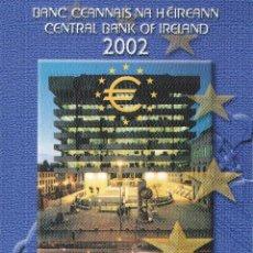 Monedas antiguas de Europa: IRLANDA CARTERA EURO COIN SET 2002 OFFICIAL ISSUE . Lote 87374508