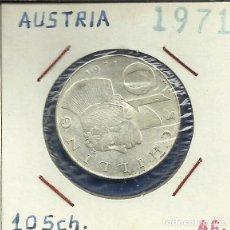 Monedas antiguas de Europa: AUSTRIA 10 SCHILLING (CHELINES) PLATA 1971 EBC+. Lote 87406680