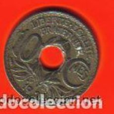 Monedas antiguas de Europa: FRANCIA - ANTIGUA MONEDA 10 CENTIMES 1924 EBC RARA. Lote 87462644
