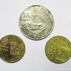 Monedas antiguas de Europa: HOLANDA 3 MONEDAS DE ECU. 2 DE 1 ECU Y UNA DE 2 1/2 ECU. LOTE 0456. Lote 87495988