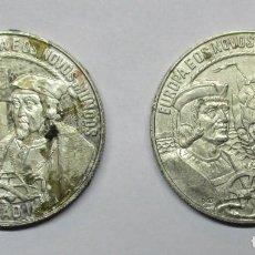 Monedas antiguas de Europa: PORTUGAL, DOS MONEDAS DE 2 1/2 ECU DE 1992 Y 1993. LOTE 0457. Lote 87497160