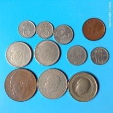Monedas antiguas de Europa: NORUEGA LOTE 11 MONEDAS DISTINTAS VARIOS VALORES Y METALES. Lote 87658580