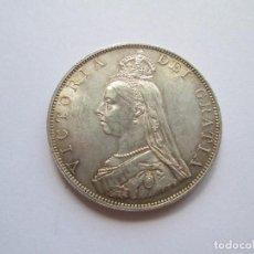 Monedas antiguas de Europa: GRAN BRETAÑA * DOBLE FLORIN 1887 * PLATA. Lote 87762196