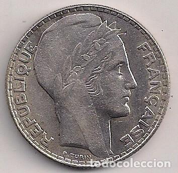 Monedas antiguas de Europa: Francia - 10 francos 1930 plata - Km#878 - Foto 2 - 89078916