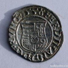 Monedas antiguas de Europa: DENARIO 1558 FERNANDO I HUNGRIA PLATA. Lote 89386168