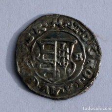 Monedas antiguas de Europa: DENARIO 1678 LEOPOLDO I HUNGRIA PLATA. Lote 89386436