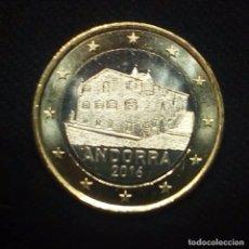Monedas antiguas de Europa: ANDORRA 1 EURO AÑO 2016- DE CARTUCHO - SIN CIRCULAR. Lote 220893421