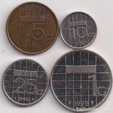 Alte Münzen aus Europa - Holanda - 5-10-25 cents y 1 florin varios años y KMs - 89566832