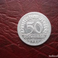 Monedas antiguas de Europa: 50 PFENNIG 1923 A ALEMANIA GERMANY WEIMAR REPUBLIC. Lote 90070504
