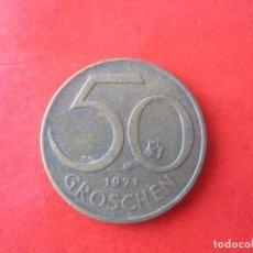 Monedas antiguas de Europa: AUSTRIA. 50 GROSCHEN. 1971. Lote 90455764