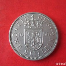 Monedas antiguas de Europa: GRAN BRETAÑA. MONEDA DE 1 SHILLING. 1958. Lote 91041380