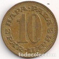 Monedas antiguas de Europa: YUGOSLAVIA - 10 PARA 1965 - KM#44. Lote 93084190