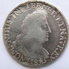 Monedas antiguas de Europa: FRANCIA. MEDIO ECU. LOUIS XIV. LETRA G. Lote 93143810