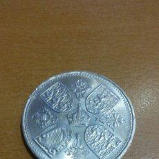 Monedas antiguas de Europa: MONEDA INGLATERRA 5 SHILLING . Lote 93710938