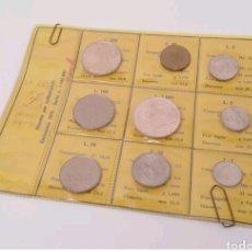 Monedas antiguas de Europa: ITALIA SET 1970 CON 2 PIEZAS DE PLATA. Lote 93937844