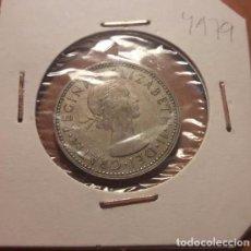Monedas antiguas de Europa: GRAN BRETAÑA, ONE SHILLING 1962. ELIZABETH II, ESCUDO DE TRES LEONES.. Lote 94120320