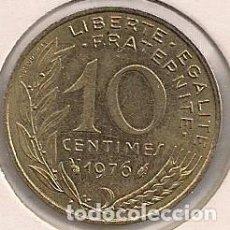 Monedas antiguas de Europa: FRANCIA - 10 CÉNTIMOS 1976 - KM#929. Lote 94728855