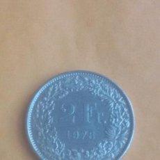 Monedas antiguas de Europa: 2 FRANCOS SUIZOS 1978 FRANC HELVETIA. Lote 94980139