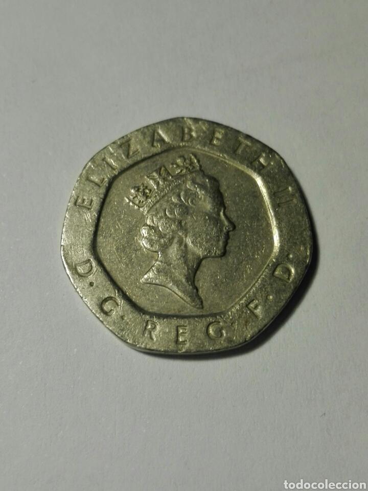 Reino Unido 20 Pence Peniques 2000 Comprar Monedas Antiguas De
