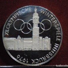 Monedas antiguas de Europa: MONEDA DE PLATA DE 100 CHELINES DE AUSTRIA DEL AÑO 1976.PROOF.. Lote 95226195