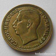 Monedas antiguas de Europa: 408 - RARA Y ESCASA MONEDA DE 20 LEI AÑO 1930 DE LATON CONSERVACION MBC+. Lote 95286135