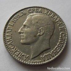 Monedas antiguas de Europa: 218 - MONEDA DE YUGOSLAVIA 2 DINARA NICKEL AÑO 1925. CONSERVACION MBC+( MINT RAYO). Lote 95450011