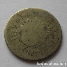 Monedas antiguas de Europa: 247 - MONEDA DE SUIZA-SWITZERLAND 5 RAPPEN DE NICKEL AÑO 1850 B. CONSERVACION RC+. Lote 95452687