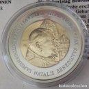 Monedas antiguas de Europa: MONEDA EURO COLECCTION AL 80 CUMPLEAÑOS DEL PAPA BENEDICTO XVI EDICION LIMITADA CON CERTIFICADO . Lote 95456527