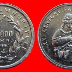 Monedas antiguas de Europa: 50000 LIRA 1999 SIN CIRCULAR TURQUIA 0183SC COMPRAS SUPERIORES 40 EUROS ENVIO GRATIS. Lote 98727940