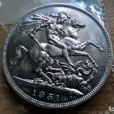 Monedas antiguas de Europa: REINO UNIDO. CORONA DE 1951. CROWN. SC. Lote 128571422