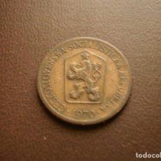 Monedas antiguas de Europa: CHECOSLOVAQUIA 1 CORONA 1970. Lote 95822339