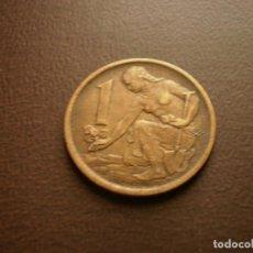 Monedas antiguas de Europa: CHECOSLOVAQUIA 1 CORONA 1976. Lote 95822371