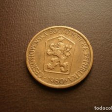 Monedas antiguas de Europa: CHECOSLOVAQUIA 1 CORONA 1980. Lote 95822403