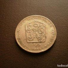 Monedas antiguas de Europa: CHECOSLOVAQUIA 2 CORONAS 1974. Lote 95822551