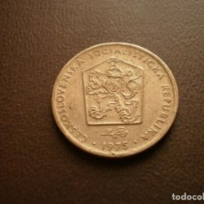 Monedas antiguas de Europa: CHECOSLOVAQUIA 2 CORONAS 1975. Lote 95822599