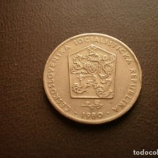 Monedas antiguas de Europa: CHECOSLOVAQUIA 2 CORONAS 1980. Lote 95822623
