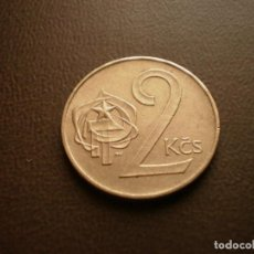 Monedas antiguas de Europa: CHECOSLOVAQUIA 2 CORONAS 1986. Lote 95822711