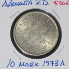Monedas antiguas de Europa: ALEMANIA (R. DEMOCRATICA): 10 MARK 1973A EBC - REF.-816. Lote 95823439