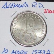 Monedas antiguas de Europa: ALEMANIA (R. DEMOCRATICA): 10 MARK 1973A EBC - REF.-817. Lote 95823479