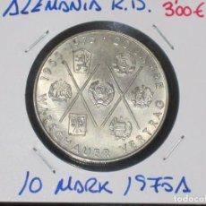 Monedas antiguas de Europa: ALEMANIA (R. DEMOCRATICA): 10 MARK 1975A MBC - REF.-818. Lote 95823575