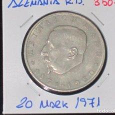 Monedas antiguas de Europa: ALEMANIA (R. DEMOCRATICA): 20 MARK 1971 MBC - REF.-819. Lote 95823635