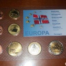 Monedas antiguas de Europa: COLECCIÓN DE MONEDAS DE NORUEGA. Lote 95898002