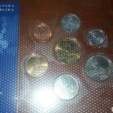 Monedas antiguas de Europa: COLECCIÓN DE MONEDAS DE SLOWAKEI. Lote 95924142