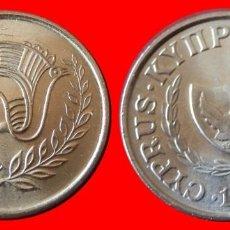 Monedas antiguas de Europa: 1 CENTIMO 1990 SIN CIRCULAR CHIPRE 0755SC COMPRAS SUPERIORES 40 EUROS ENVIO GRATIS. Lote 95925507