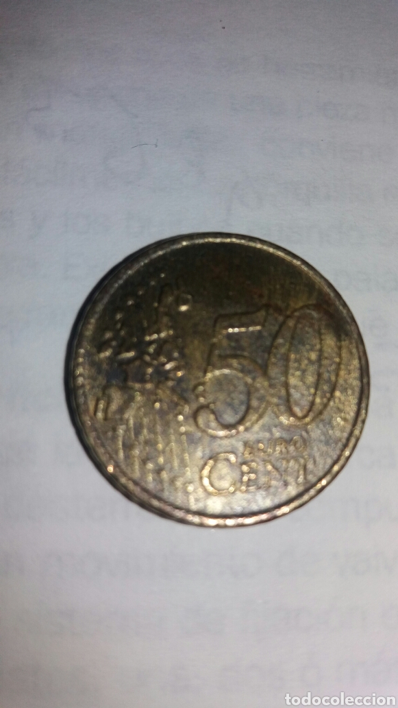 Monedas antiguas de Europa: 50 CÉNTIMOS DE EURO DE GRECIA 2002 - Foto 3 - 96074447