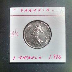 Monedas antiguas de Europa: FRANCIA 1 FRANCO 1972 BC KM 925.1. Lote 96325831