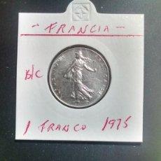 Monedas antiguas de Europa: FRANCIA 1 FRANCO 1975 BC KM 925.1. Lote 96326087